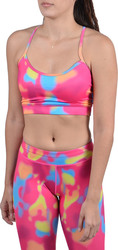 Body Action Racerback Sports Bra 041609-Pink