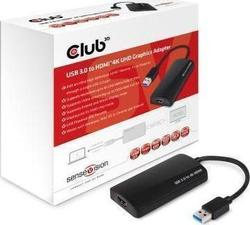 CLUB 3D USB-A male - HDMI female (CSV-2303H)