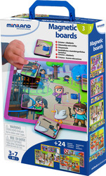 Miniland Educational Magnetic Boards: Civility