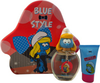 Disney Smurfette Eau de toilette 100ml & Shower Gel 75ml & Key Chain