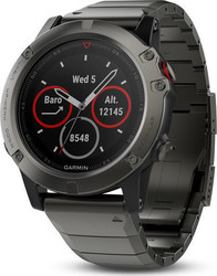 Garmin Fenix 5X (Slate Gray Sapphire with Metal Band)