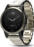 Garmin Fenix 5S (Champagne Sapphire with Metal Band)