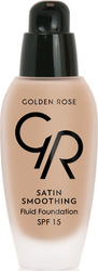 Golden Rose Satin Smoothing Fluid Foundation 37 SPF15 34ml
