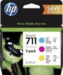 HP 711 Color 29ml 3-pack (P2V32A)