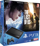 Sony Playstation 3 (PS3) Super Slim 500GB & Beyond Two Souls & Last of US