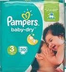 Pampers Baby Dry Magical Pods No 3 (5-9Kg) 30τμχ