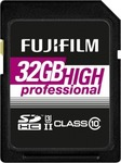 Fujifilm High Professional SDHC 32GB U3