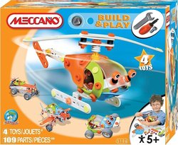 Meccano Build & Play: Helicopter