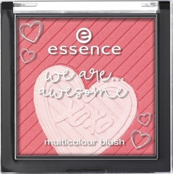 Essence We Are Awesome Multicolour Blush 01 You & Me equals Awesome