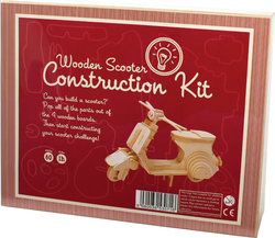 Professor Puzzle Construction Kit - Wooden Scooter