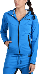 Body Action Zip-through Hooded 071509 Blue