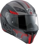 AGV Compact-ST Seattle Black Matt/Red