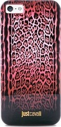 Just Cavalli Back Cover Leopard- Pink Red (iPhone 6/6s)