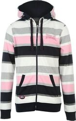 Everlast Stripe Hoody 665208 Grey Marl