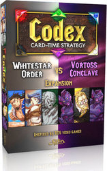 Sirlin Games Codex: Card-Time Strategy - Whitestar Order Vs Vortoss Conclave Expansion