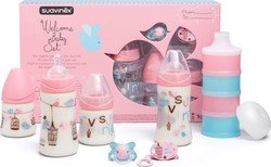 Suavinex Welcome Baby Girl Set 7τμχ