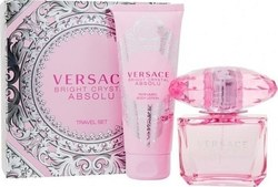 Versace Bright Crystal Absolu Eau de Parfum 90ml & Body Lotion 100ml