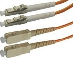 OEM Optical Fiber LC-SC Cable 10m Πορτοκαλί (04.023.0174)