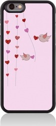 Call Candy Back Cover Love Birds Ροζ (iPhone 8/7)