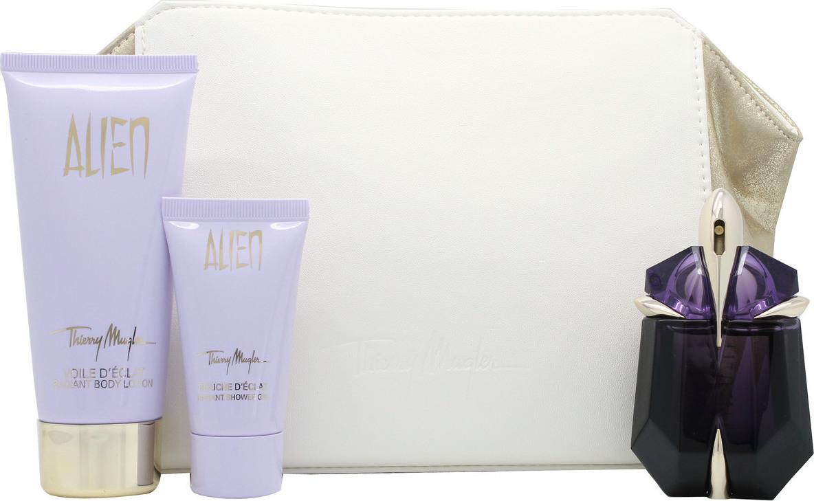 mugler alien eau de parfum refilable 30ml body lotion. Black Bedroom Furniture Sets. Home Design Ideas