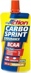 ProAction Gel Carbo Sprint BCAA 50ml Πορτοκάλι