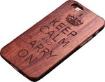 OEM Back Cover Rosewood Crown Καφέ (iPhone 6/6s)