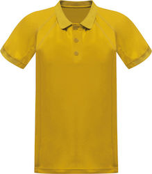 Unisex Μπλούζα Polo Coolweave Regatta Standout TRS147 - Bright Yellow