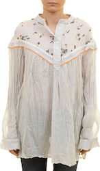 FREE PEOPLE HEARTS AND COLORS TOP - OB571396-NEUTR MULTI