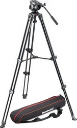 Manfrotto Tripod With Fluid Video Head Lightweight With Side Lock MVK500AM Τρίποδο - Βίντεο