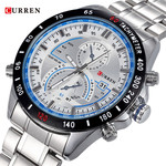 Curren M8149 Silver&Blue