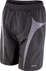 Spiro Micro Lite Team Shorts Result R184X - Black/Grey
