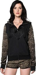 METAL MULISHA EVILUTION ZIP HOOD LEOPARD