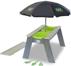 Exit Toys Aksent Sand- En Watertable L + Sunshade