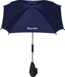 Lorelli Bertoni Baby Stroller Umbrella with UV Protection - Dark Blue