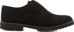Feng Shoe S0003M002 Black Suede