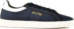 Fred Perry Sidespin Canvas B8244 Dark Blue