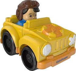 Mattel Little People Wheelies Yellow