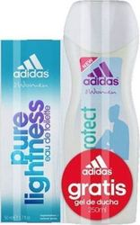 Adidas Pure Lightness Eau de Cologne 50ml & Body Milk 200ml