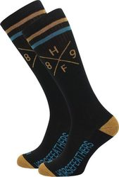 HORSEFEATHERS ZACK SOCKS BLACK