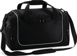 Quadra QS77 Teamwear Locker Bag Black / Light Grey 30lt