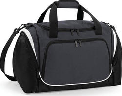 Quadra QS277 Pro Team Locker Bag Graphite Grey / Black / White 30lt