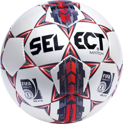 Select Sport Match Fifa Quality No 5 Black - Red 10953