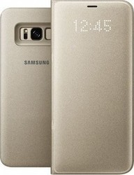Samsung LED View Cover Gold (Galaxy S8+)