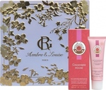 Roger & Gallet Gingembre Rouge Eau de Parfum 50ml & Lait Dynamisant 50ml & Ambre & Louise Box