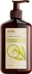 Ahava Mineral Botanic Body Lotion Lemon & Sage 400ml