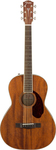 Fender PM-2 Parlor NE All-Mahogany Natural