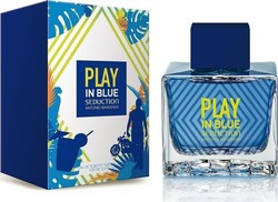 Antonio Banderas Play In Blue Seduction Eau de Toilette 100ml