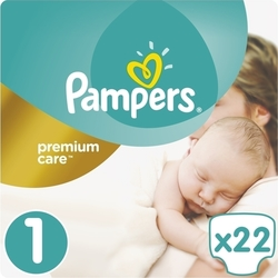 Pampers Premium Care No1 (2-5kg) 22 τμχ