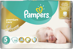 Pampers Premium Care No 5 (11-18kg) 44τμχ