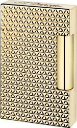 S.T. Dupont Ligne 2 Fire Head Yellow Gold Finish 016433